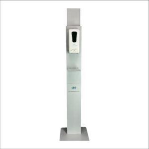 Hand Sanitizer Dispenser Stand (with name holder)