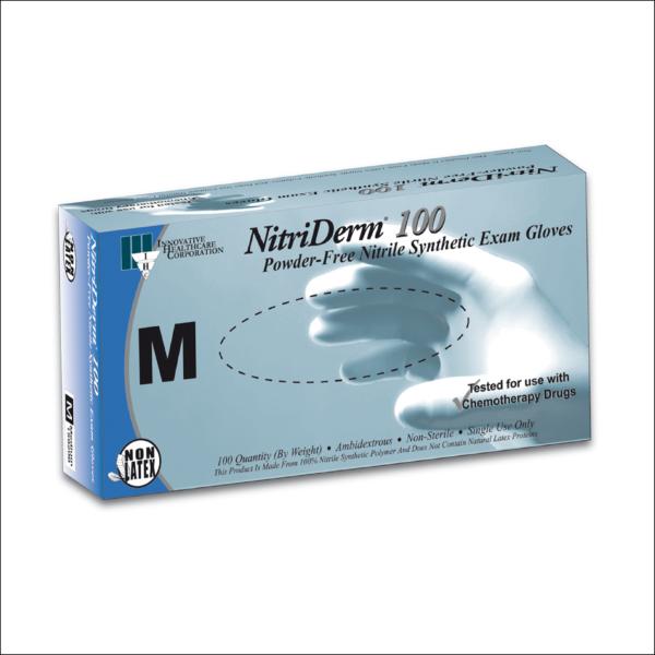 Nitriderm Synthetic Exam Gloves